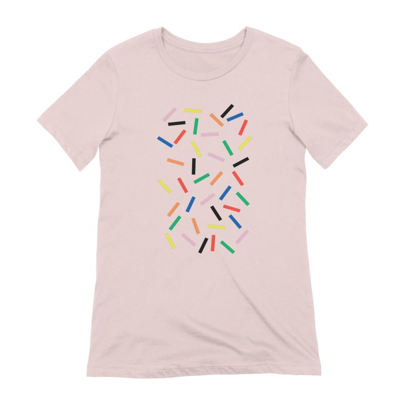 Sprinkles Fresh Women's Extra Soft T-Shirt by Project M's Artist Shop