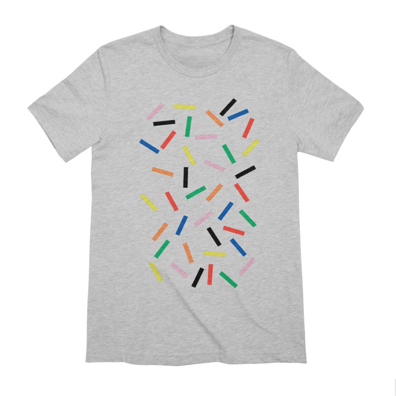 Sprinkles Fresh Men's Extra Soft T-Shirt by Project M's Artist Shop