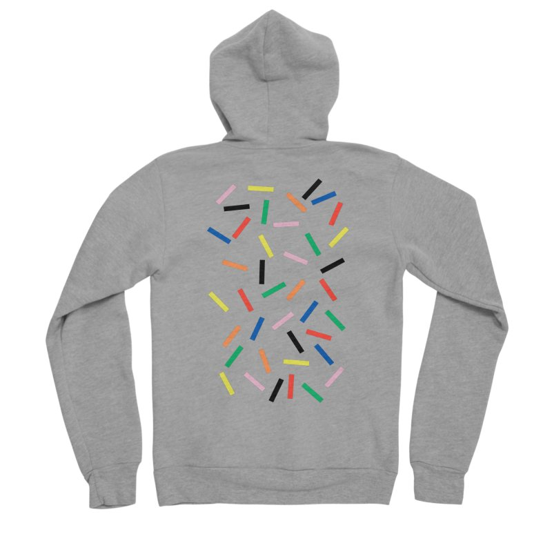 Sprinkles Fresh Men's Sponge Fleece Zip-Up Hoody by Project M's Artist Shop