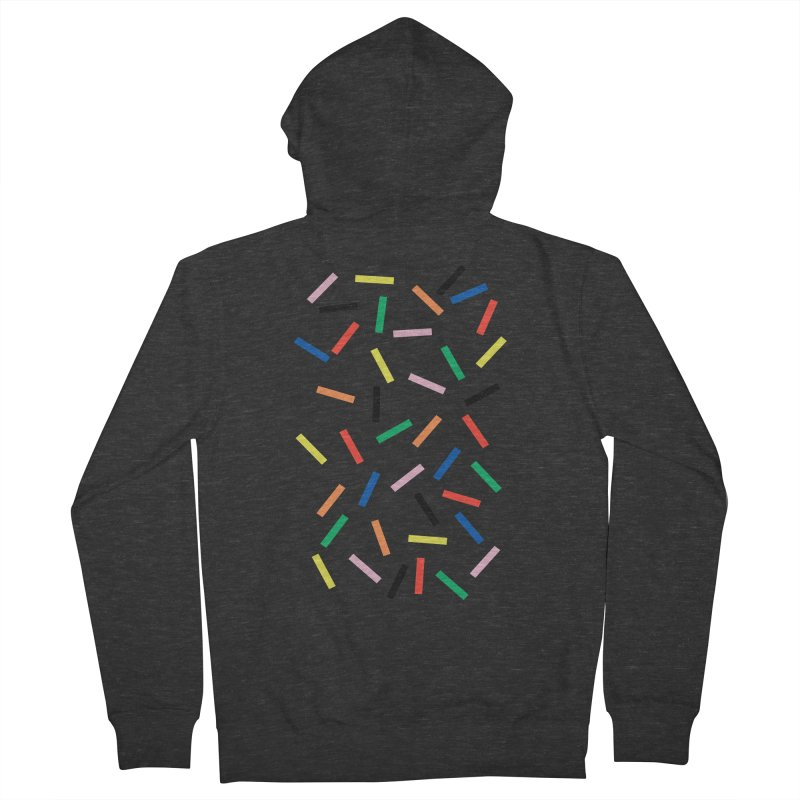 Sprinkles Fresh Women's French Terry Zip-Up Hoody by Project M's Artist Shop