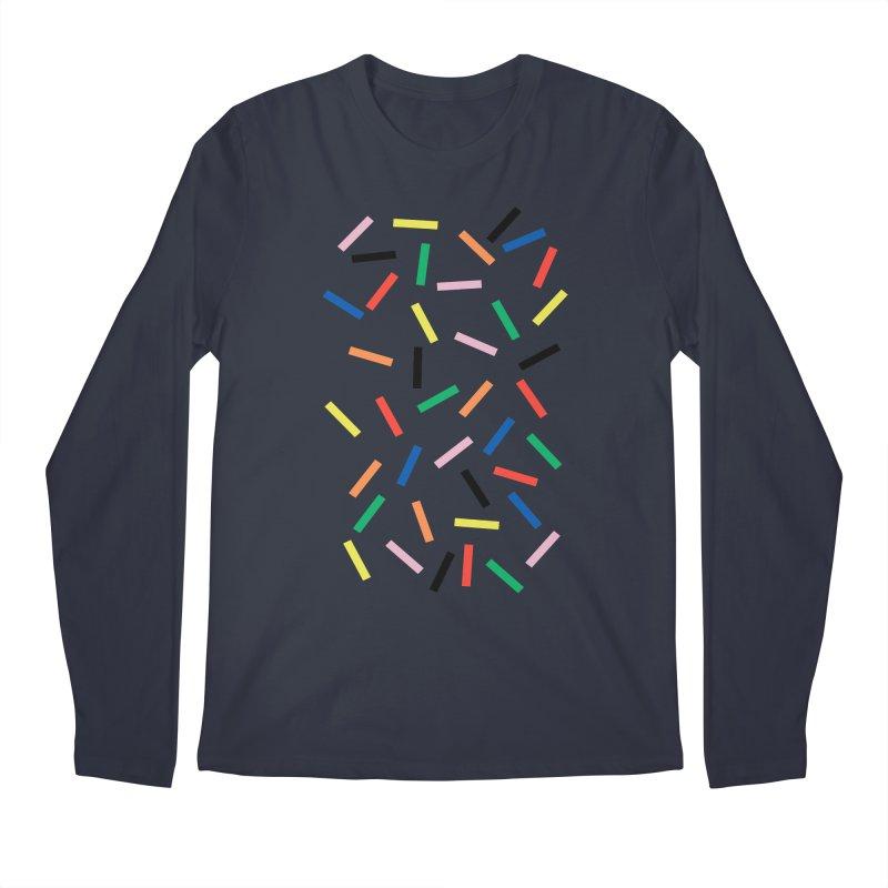Sprinkles Fresh Men's Regular Longsleeve T-Shirt by Project M's Artist Shop