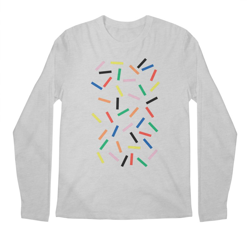 Sprinkles Fresh Men's Regular Longsleeve T-Shirt by Project M's Artist Shop