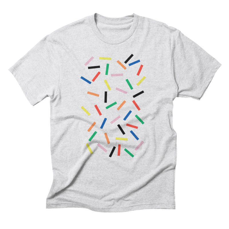 Sprinkles Fresh Men's Triblend T-Shirt by Project M's Artist Shop