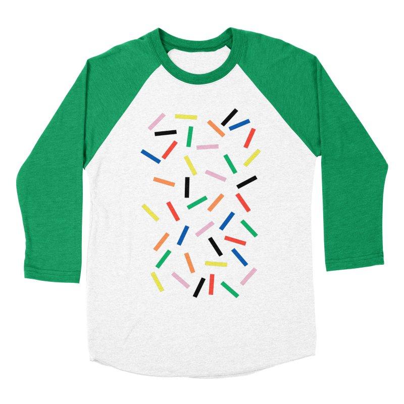 Sprinkles Fresh Women's Baseball Triblend Longsleeve T-Shirt by Project M's Artist Shop