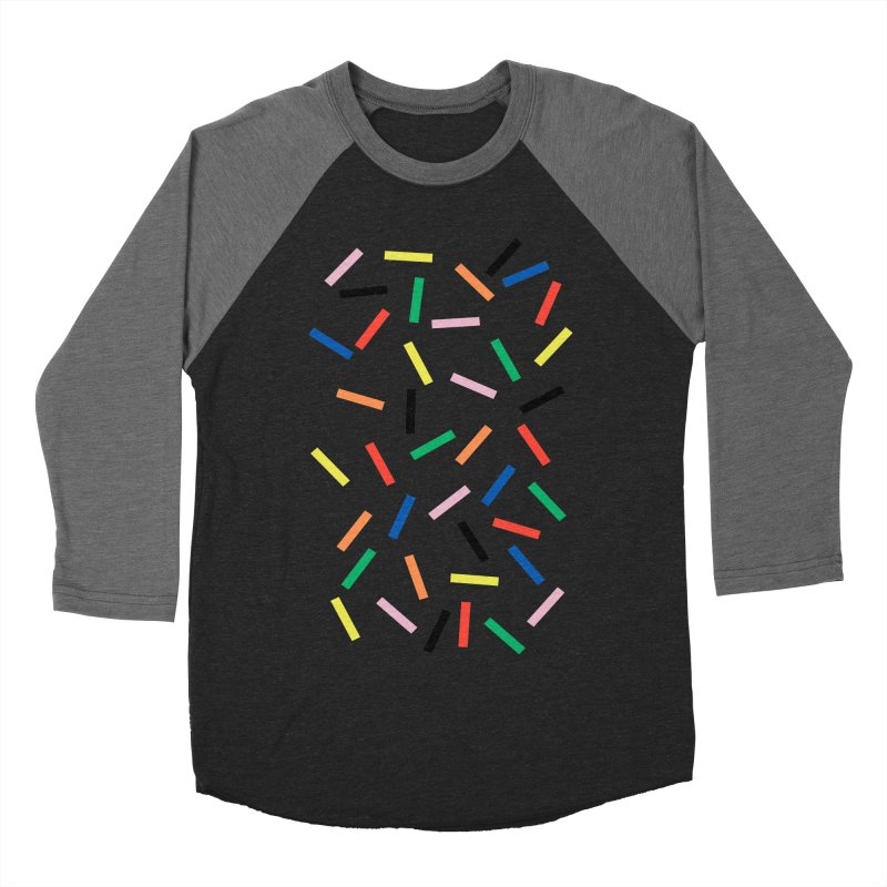 Sprinkles Fresh Women's Baseball Triblend Longsleeve T-Shirt by Project M's Artist Shop