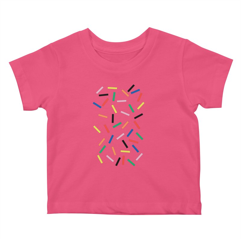 Sprinkles Fresh Kids Baby T-Shirt by Project M's Artist Shop
