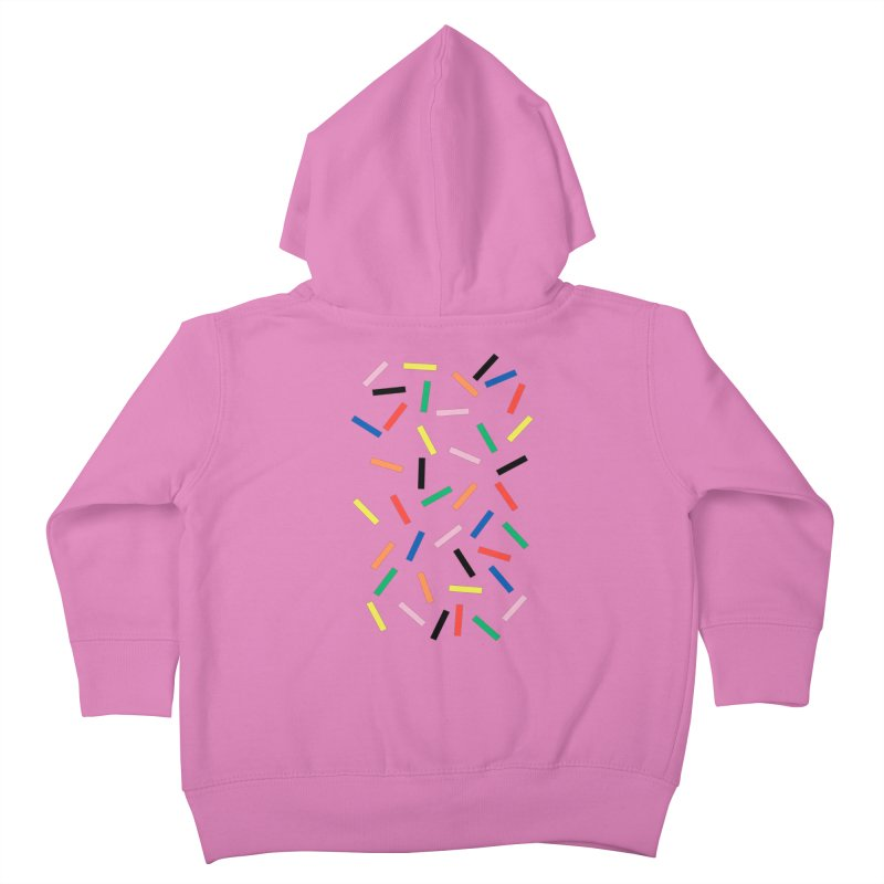 Sprinkles Fresh Kids Toddler Zip-Up Hoody by Project M's Artist Shop