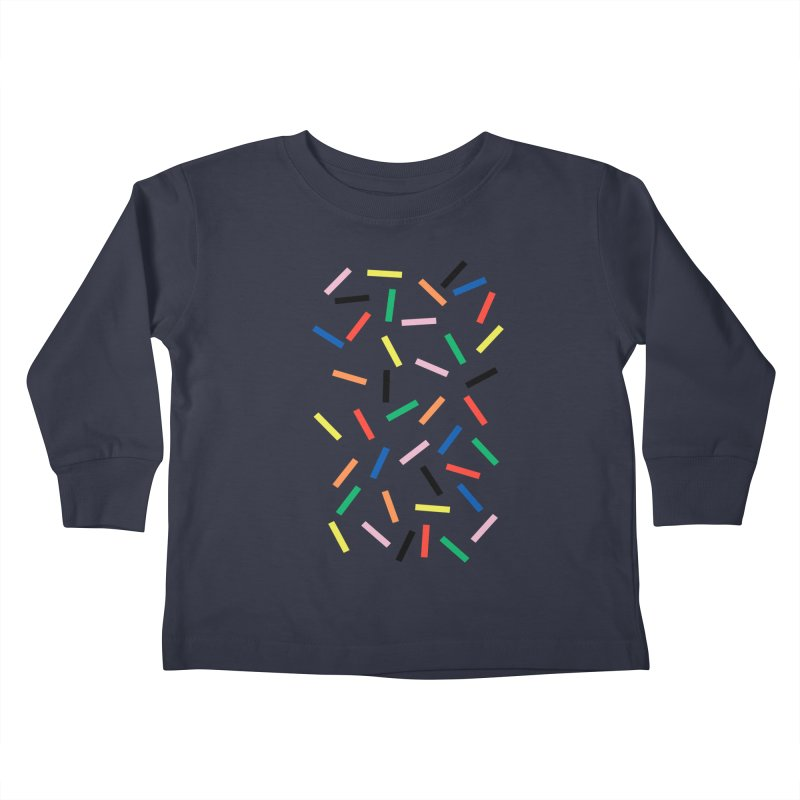 Sprinkles Fresh Kids Toddler Longsleeve T-Shirt by Project M's Artist Shop