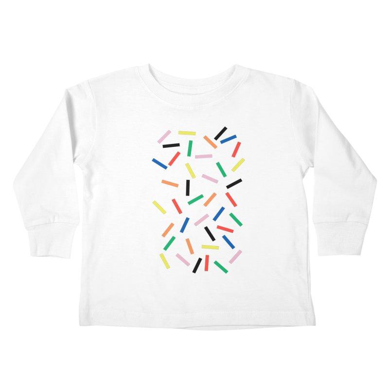 Sprinkles Fresh Kids Toddler Longsleeve T-Shirt by Project M's Artist Shop
