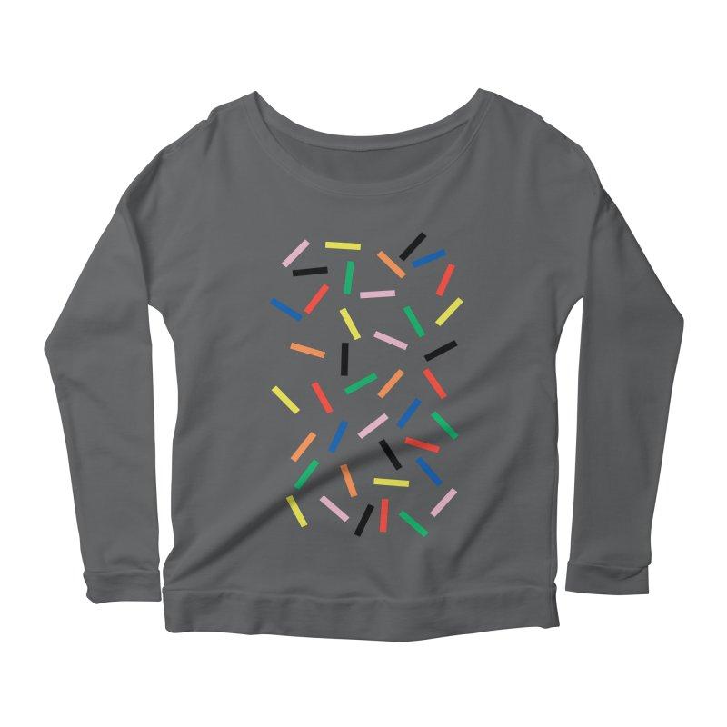 Sprinkles Fresh Women's Scoop Neck Longsleeve T-Shirt by Project M's Artist Shop