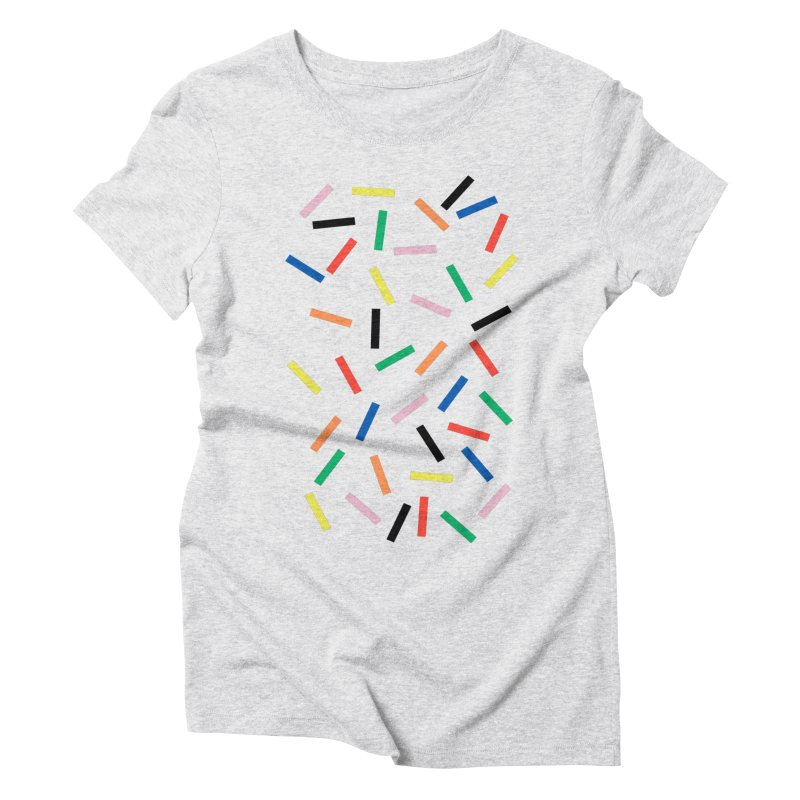 Sprinkles Fresh Women's Triblend T-Shirt by Project M's Artist Shop