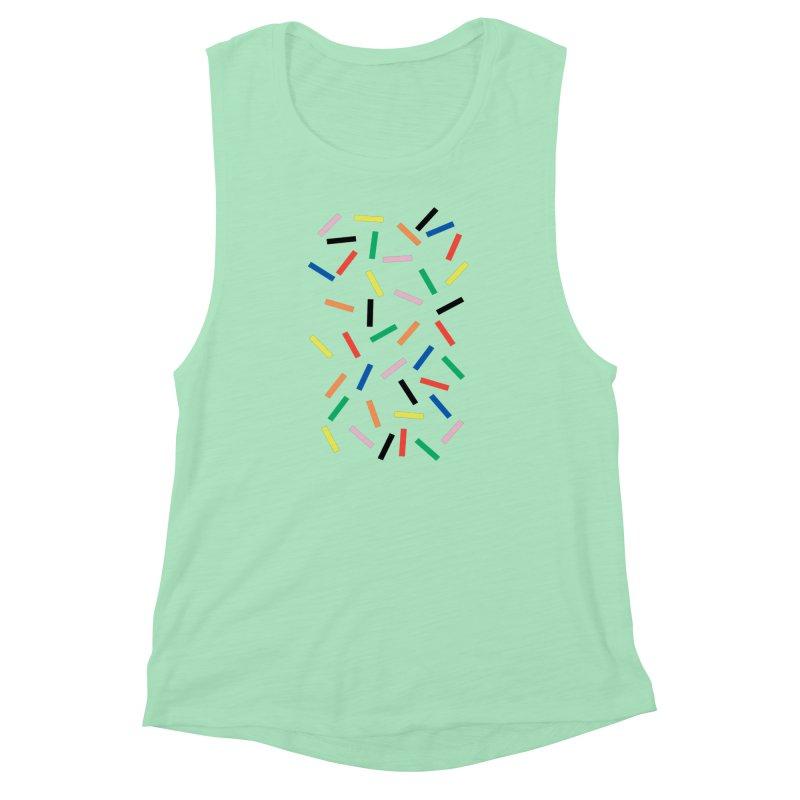 Sprinkles Fresh Women's Muscle Tank by Project M's Artist Shop