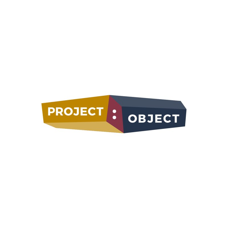 Project:Object Logo Men's T-shirt by PROJECT:OBJECT Objects! Proceeds go to the ACLU
