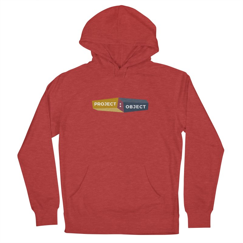 Project:Object Logo Men's French Terry Pullover Hoody by PROJECT:OBJECT Objects
