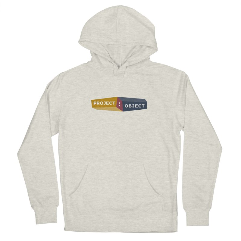 Project:Object Logo Men's Pullover Hoody by PROJECT:OBJECT Objects! Proceeds go to the ACLU