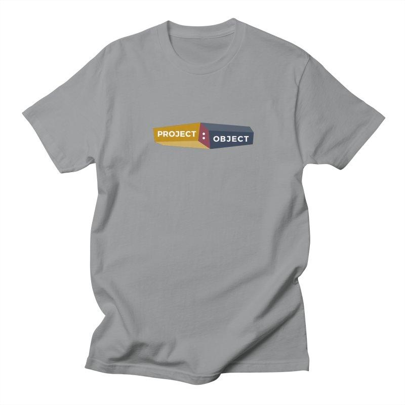 Project:Object Logo Men's Regular T-Shirt by PROJECT:OBJECT Objects