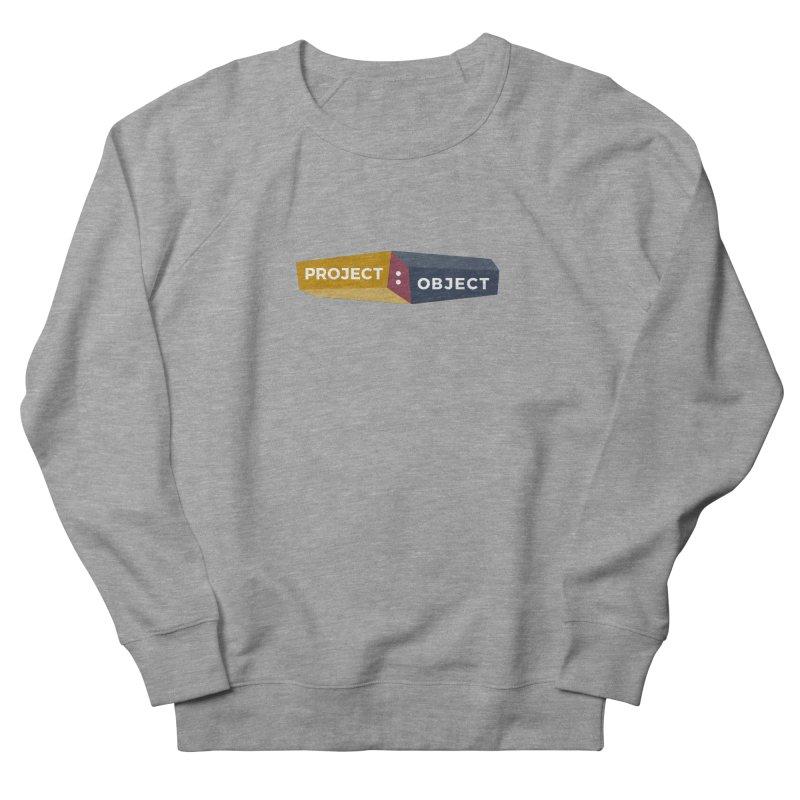 Project:Object Logo Women's Sweatshirt by PROJECT:OBJECT Objects! Proceeds go to the ACLU