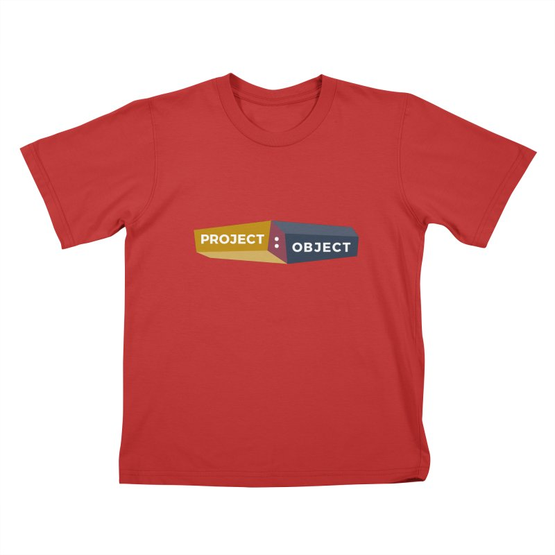 Project:Object Logo Kids T-Shirt by PROJECT:OBJECT Objects