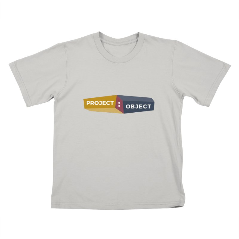 Project:Object Logo Kids T-shirt by PROJECT:OBJECT Objects! Proceeds go to the ACLU