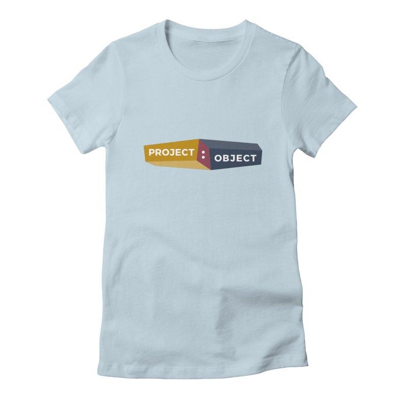 Project:Object Logo Women's T-Shirt by PROJECT:OBJECT Objects