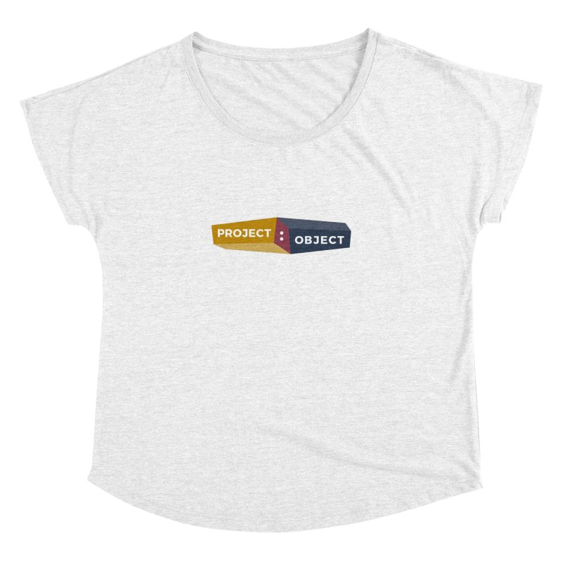Project:Object Logo Women's Dolman by PROJECT:OBJECT Objects! Proceeds go to the ACLU