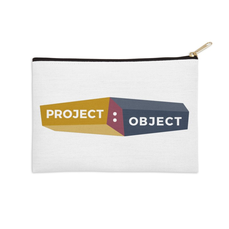 Project:Object Logo Accessories Zip Pouch by PROJECT:OBJECT Objects! Proceeds go to the ACLU