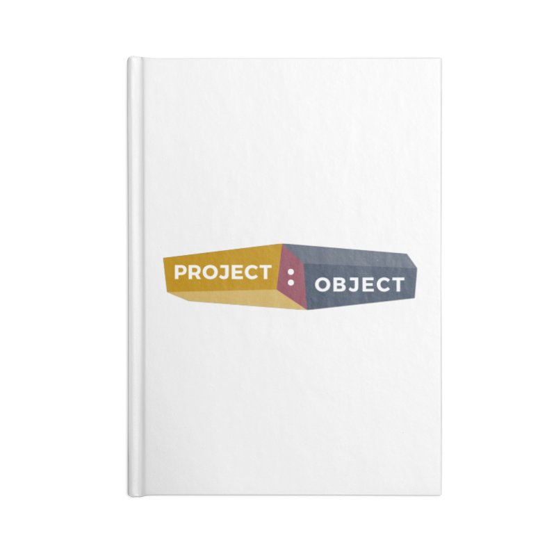 Project:Object Logo Accessories Notebook by PROJECT:OBJECT Objects! Proceeds go to the ACLU