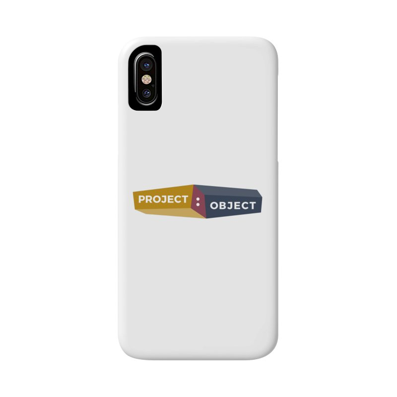 Project:Object Logo Accessories Phone Case by PROJECT:OBJECT Objects