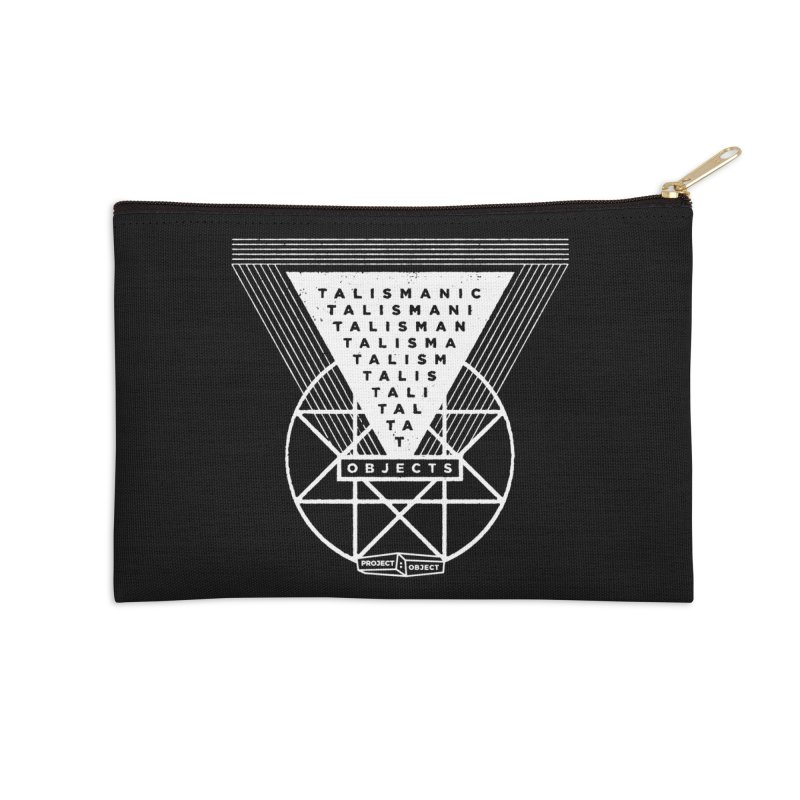 Talismanic Objects Accessories Zip Pouch by PROJECT:OBJECT Objects! Proceeds go to the ACLU