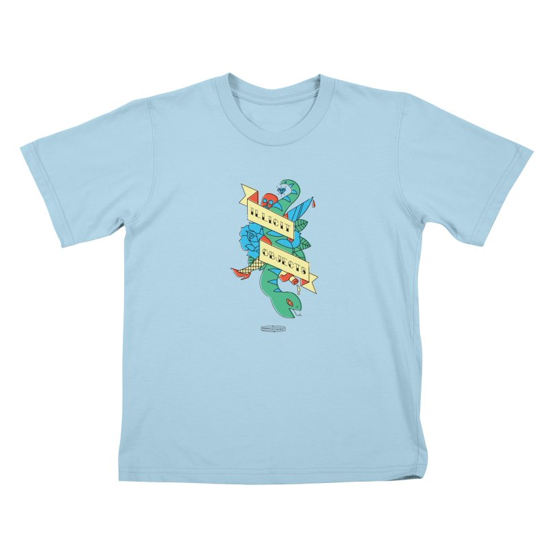 ILLICIT OBJECTS Kids T-shirt by PROJECT:OBJECT Objects! Proceeds go to the ACLU