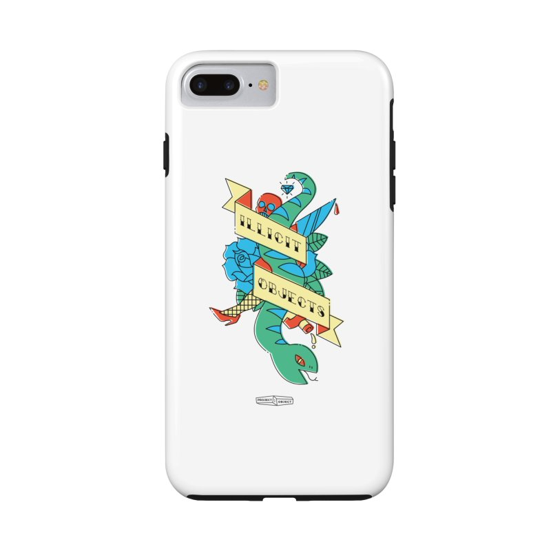 ILLICIT OBJECTS in iPhone 7 Plus Phone Case Tough by PROJECT:OBJECT Objects! Proceeds go to the ACLU