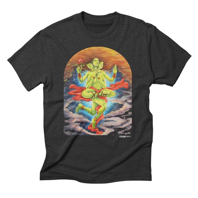 Godess by Fernando Ramirez Men's Triblend T-Shirt by Project Onward Merchandise Store