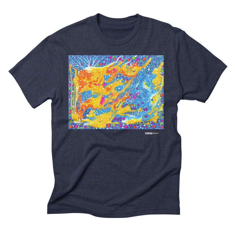 Dot Pool by Sheila Smith Men's Triblend T-Shirt by Project Onward Merchandise Store