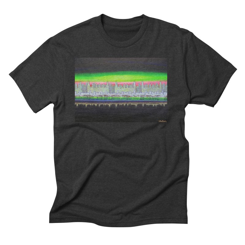 Chicago by John Behnke Men's Triblend T-Shirt by Project Onward Merchandise Store