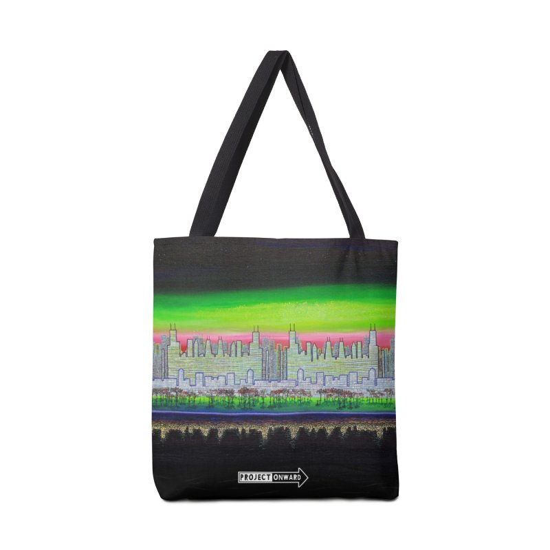 Chicago by John Behnke Accessories Tote Bag Bag by Project Onward Merchandise Store