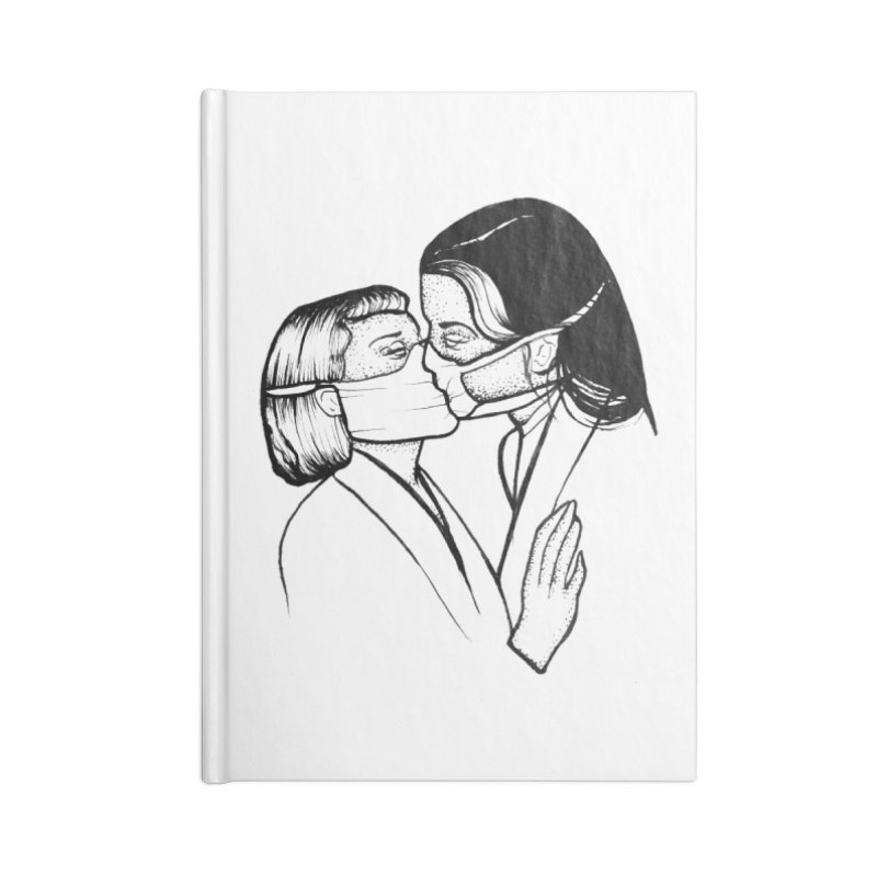 sealed with a kiss Accessories Notebook by prometheatattoos's Artist Shop