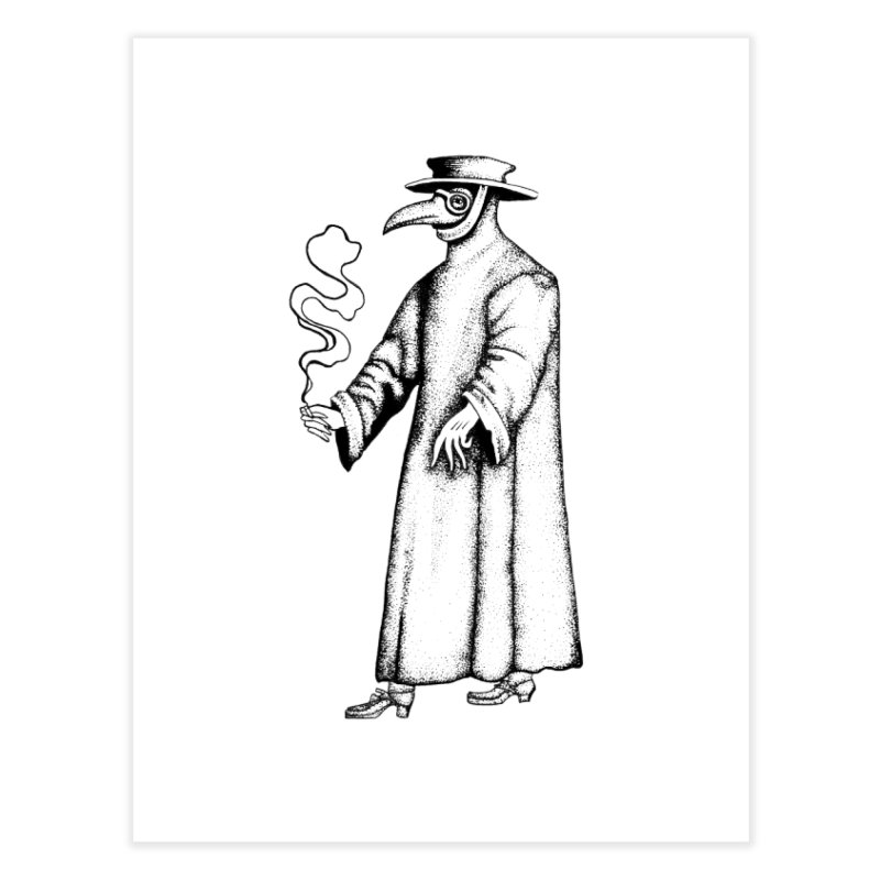 the doctor is in Home Fine Art Print by prometheatattoos's Artist Shop