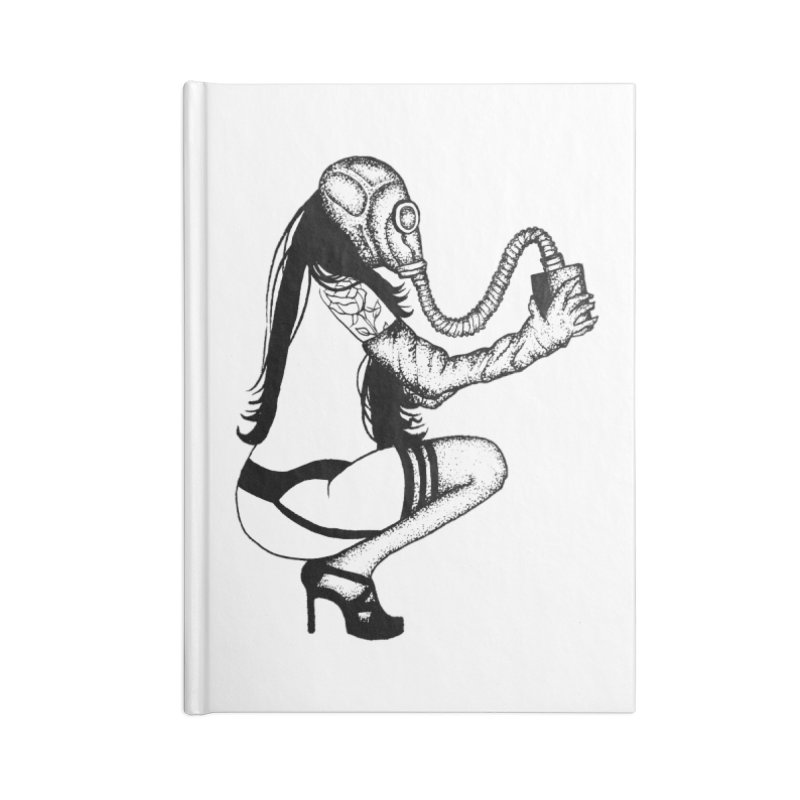 let's have a gas Accessories Notebook by prometheatattoos's Artist Shop