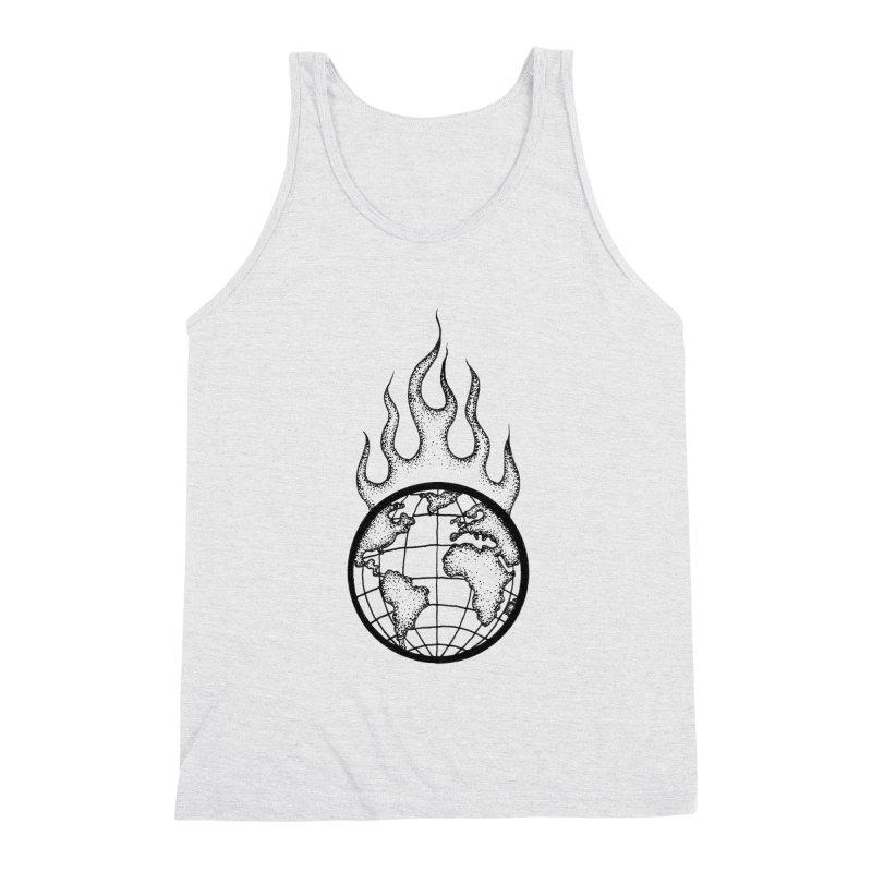 the world is burning Men's Tank by prometheatattoos's Artist Shop