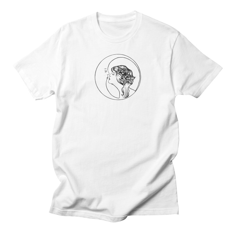 over the moon Men's T-Shirt by prometheatattoos's Artist Shop