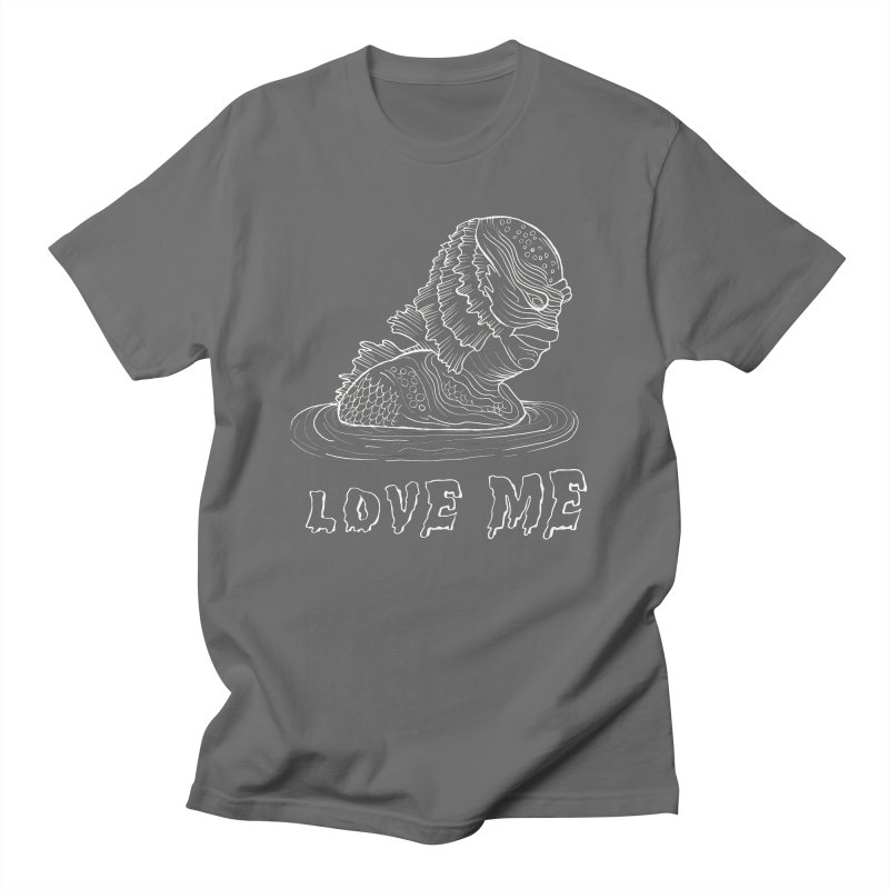 love and monsters Men's T-Shirt by prometheatattoos's Artist Shop