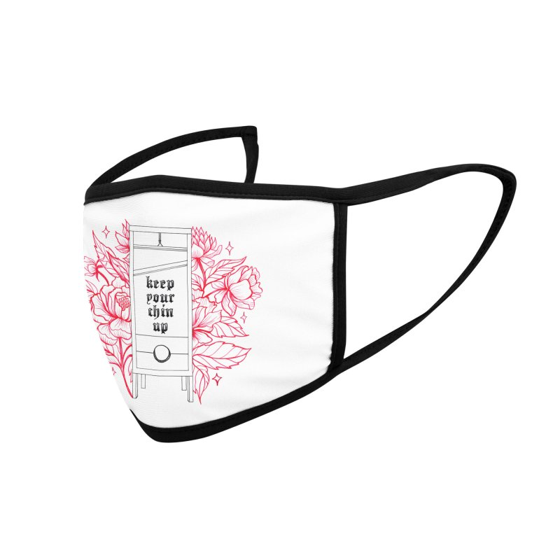 keep your chin up Accessories Face Mask by prometheatattoos's Artist Shop