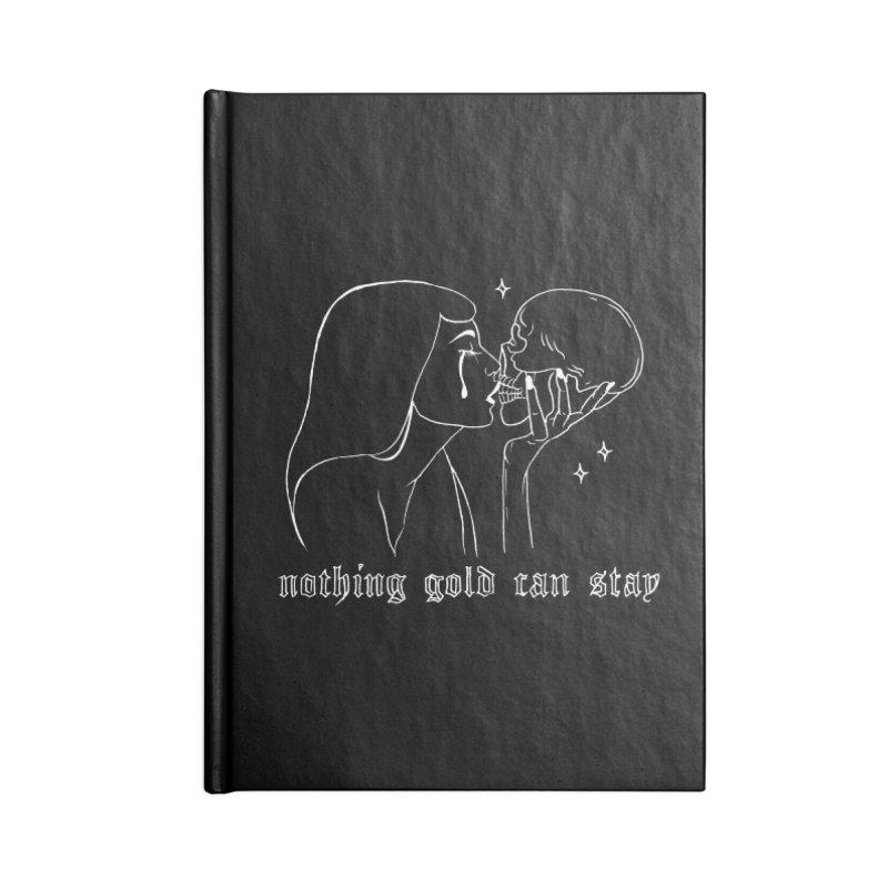haunted Accessories Notebook by prometheatattoos's Artist Shop
