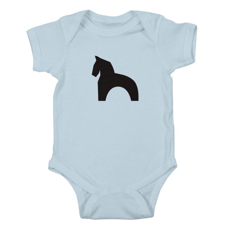 Toy horse (stolyarka.me) Kids Baby Bodysuit by Elefunfunt