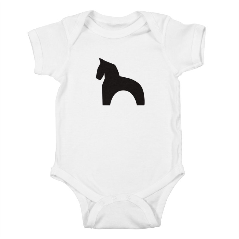 Toy horse (stolyarka.me) Kids Baby Bodysuit by Elefunfunt