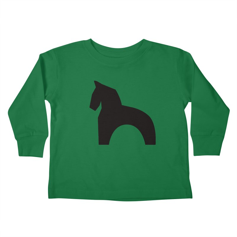 Toy horse (stolyarka.me) Kids Toddler Longsleeve T-Shirt by Elefunfunt