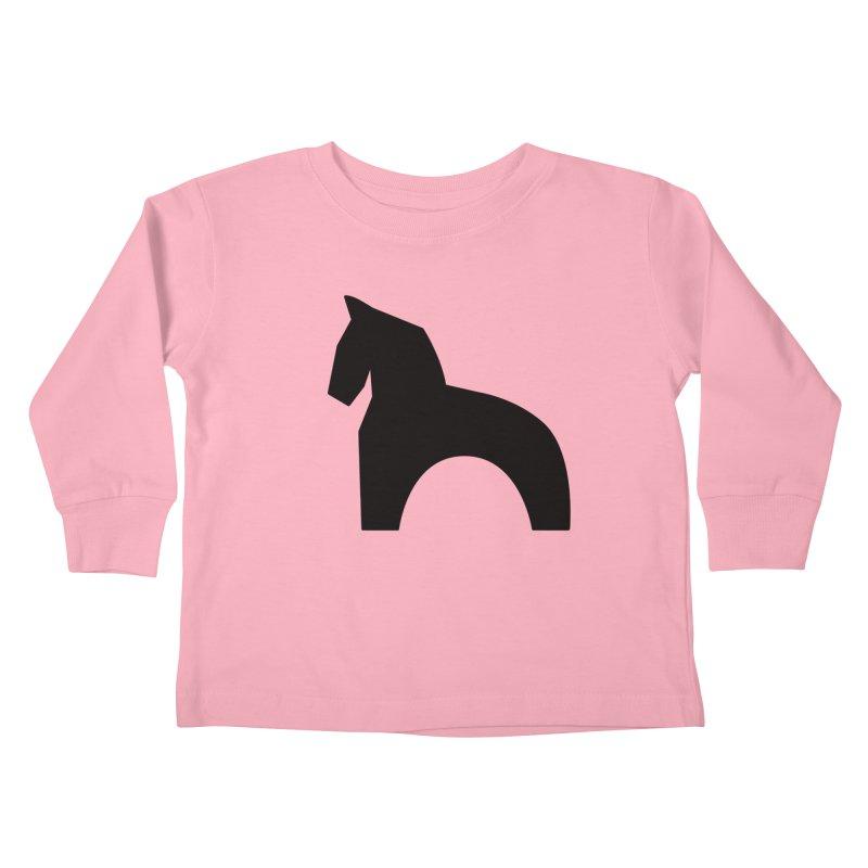 Toy horse (stolyarka.me) Kids Toddler Longsleeve T-Shirt by Elefunfunt