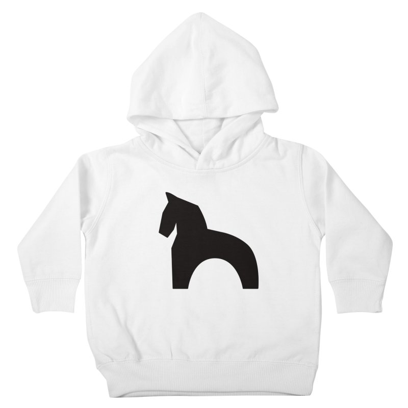 Toy horse (stolyarka.me) Kids Toddler Pullover Hoody by Elefunfunt