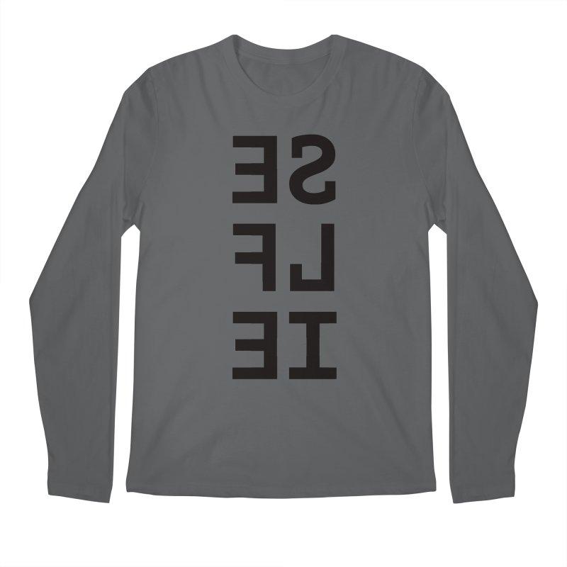 Selfie Men's Regular Longsleeve T-Shirt by Elefunfunt