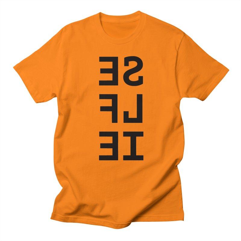 Selfie Men's Regular T-Shirt by Elefunfunt
